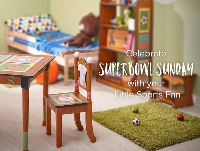 Celebrate Super Bowl Sunday with Your Little Sports Fan